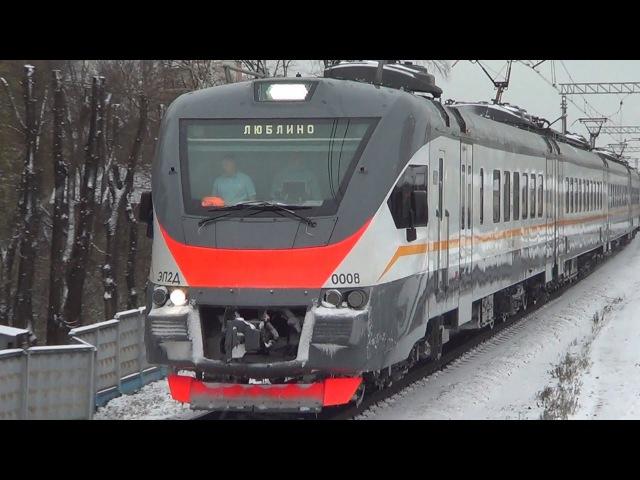Электропоезд ЭП2Д-0008 ЦППК платформа Депо, Daniil 96