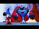 Мультик игра для детей Микки Маус на космическом корабле против Звездных Войн