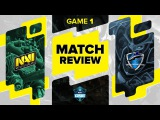Match review: Na`Vi vs Vega - Game 1 @ ESL One Frankfurt 2016