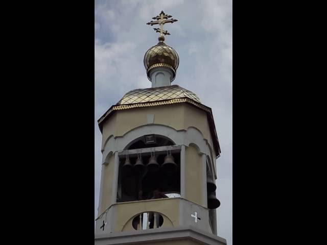 Звон Александра Моренова на фестивале колокольного звона в г Волжском Волгоградская обл