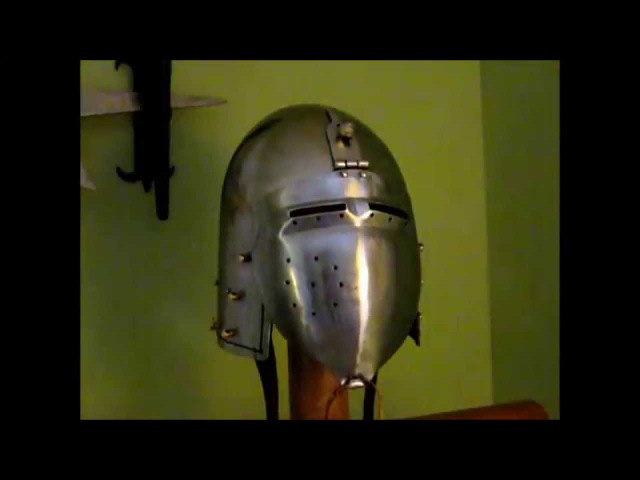 Klappvisier Bascinet Helmet Unboxing and Review