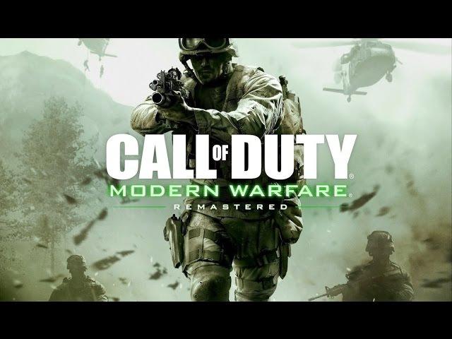 Фильм CALL OF DUTY Modern Warfare Remastered (полный игрофильм, весь сюжет) [60fps, 1080p]