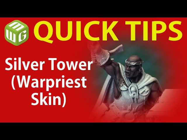 Как покрасить кожу негроида (Quick Tip Silver Tower (Warpriest Skin))