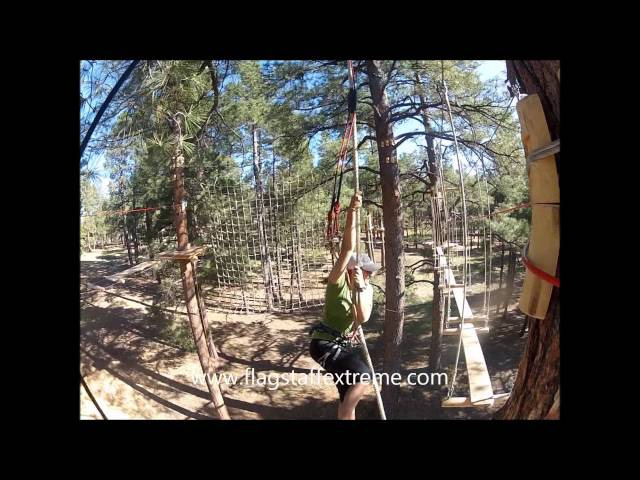 Flagstaff Extreme Adventure Course - Promo Video
