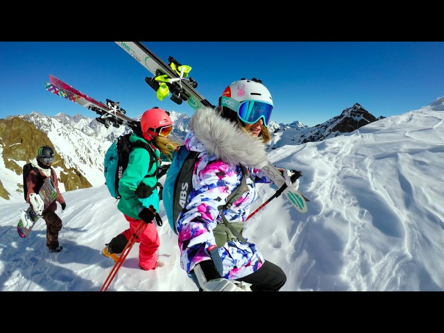 GoPro: Skiing Snowboarding South America with Julia Mancuso, Jamie Anderson and Lynsey Dyer in 4K