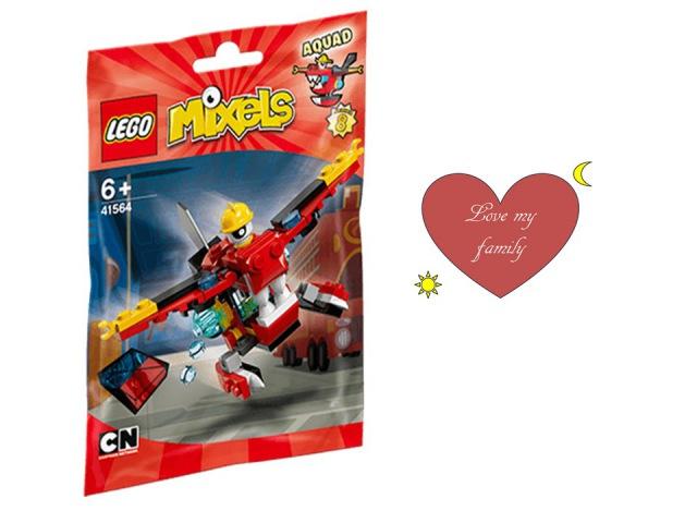 LEGO MIXELS - 41564 - AQUAD