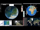 Live Cascadia California yellowstone japan iceland  earthquake monitoring desktop view