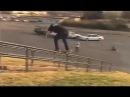 SUPER SIZED Bs Feeble Grind Down 30 Rail - Behind the Clips - Eli Tennant
