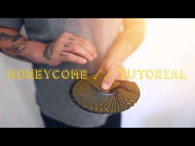 HONEYCOMB TUTORIAL (Fancy false cut) by CHRIS RAMSAY