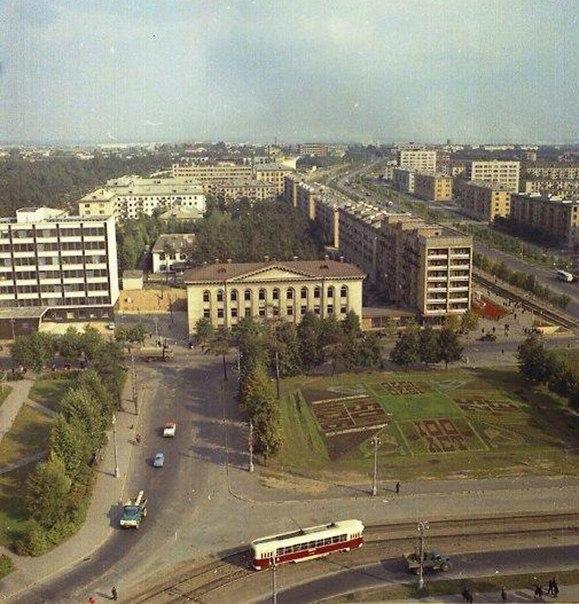 Заводской район спустя десятилетия.