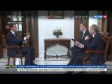 Эксклюзивное интервью Башара Асада, телеканалу  Россия 24.HD. эфир от 14.12.2016.г