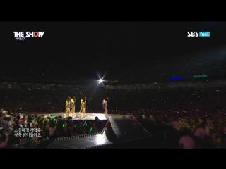 Gfriend - me gustas tu (the show suwon k-pop super concert 2016.06.28)