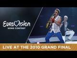 Sunstroke Project &amp Olia Tira - Run Away (Moldova) Live 2010 Eurovision Song Contest