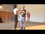 Emily & Junior Spinning Technique Workshop at Chim Pum Callao Salsa Congress 360p