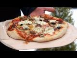 Пицца суприм на гриле. Заклинатель орегано...