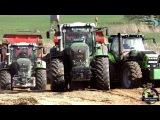 PS Power auf der Baustelle Fendt , Steyr , Deutz, CAT, Traktoren und Baumaschinen Bau der A14