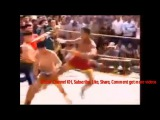 Thai Martial Art Boxing, Traditional Fight, Muay Thai fight country side, martial art rural Thailand