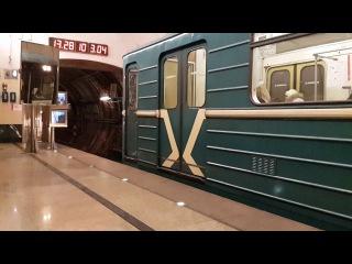 Номерной отправляется со станции Марьина роща