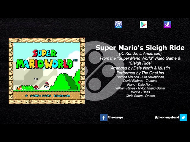 The OneUps - Super Mario World - Super Mario's Sleigh Ride