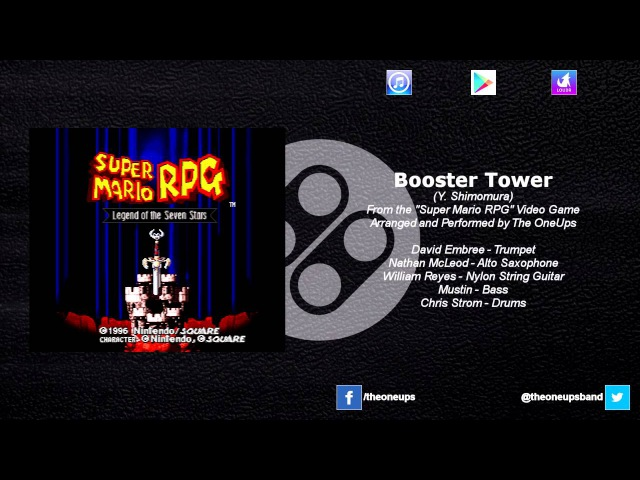 The OneUps - Super Mario RPG - Booster Tower