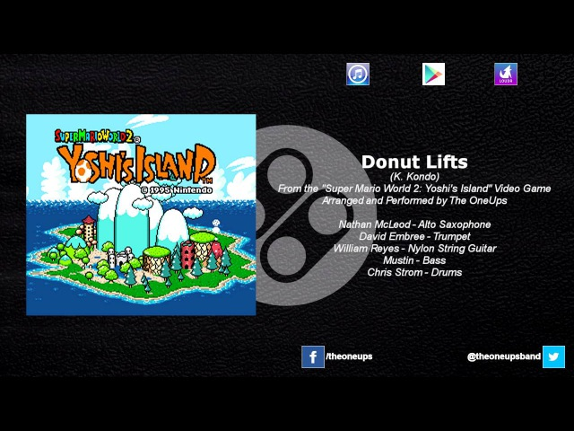 The OneUps - Super Mario World 2 Yoshi's Island - Donut Lifts