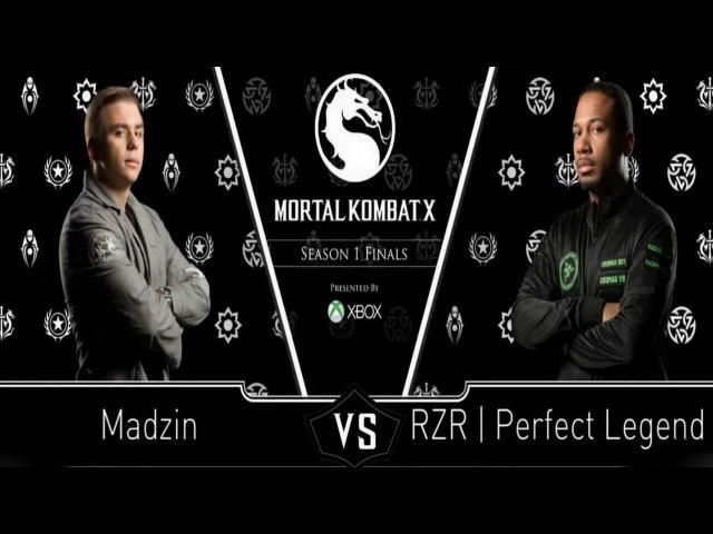 Mortal Kombat X: Tournament Finals - Pools! Madzin VS Perfect Legend! MKX: Sub-Zero VS Kung Lao!