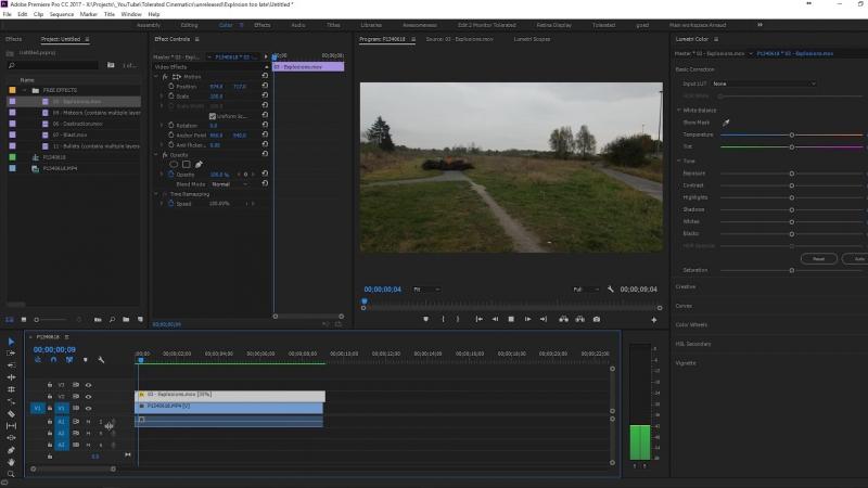 Суперслоумошен в Adobe Premiere Pro optical_ flow