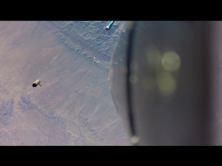 Камеру GoPro прицепили на ракету