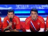 КВН Сборной России по футболу посвящается - ТОП-10 лучших номеров
