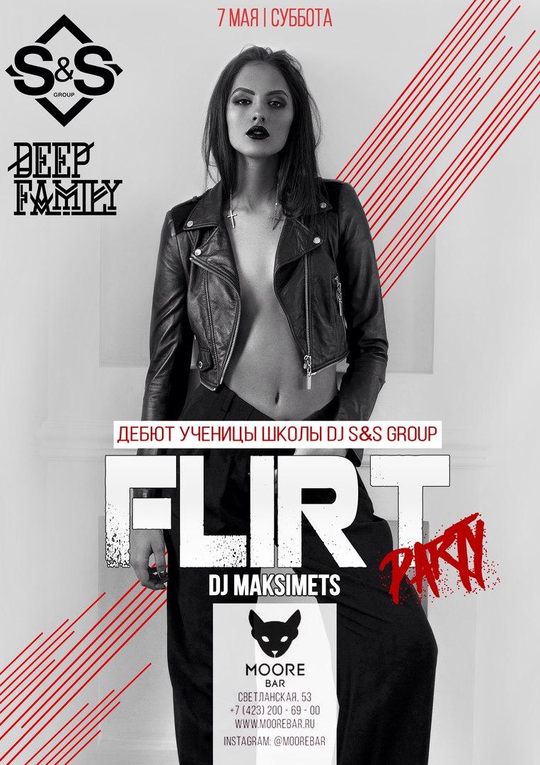 Афиша Владивосток Moore Bar 7 Мая - FLIRT PARTY