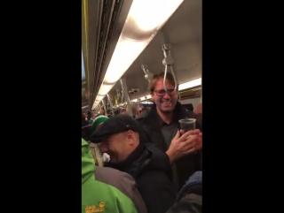 When Ireland fans met Jurgen Klopp on a train in Vienna