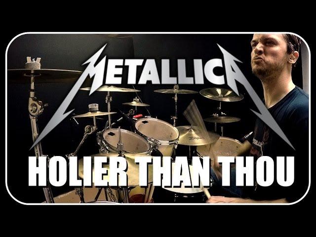 METALLICA - Holier Than Thou - Drum Cover