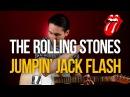Как играть The Rolling Stones Jumpin' Jack Flash - Уроки игры на гитаре Первый Лад