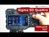 Sigma SD Quattro. Тест