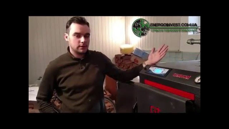 Обзор пеллетного котла Galmet Expert KWPM 40 кВт