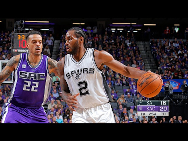 San Antonio Spurs vs Sacramento Kings - Full Game Highlights | October 27, 2016 | 2016-17 NBA Season » Freewka.com - Смотреть онлайн в хорощем качестве