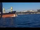 Столкновение сухогруза M V Tolunay с катером турецкой береговой охраны в проливе Босфор