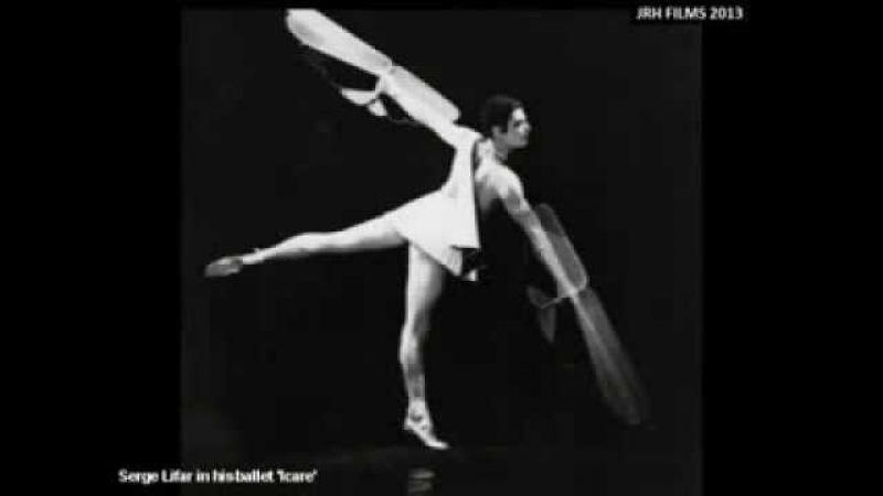 Serge Lifar and his ballet 'Icare' (1935)