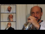 French Horn / Flight of the Bumble bee for 5 french horns by Javier Bonet
