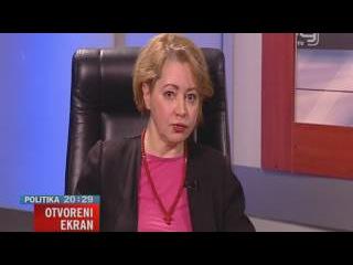 TV KANAL 9, NOVI SAD: OTVORENI EKRAN, 08.02.2017. Prof. dr Mila Alečković