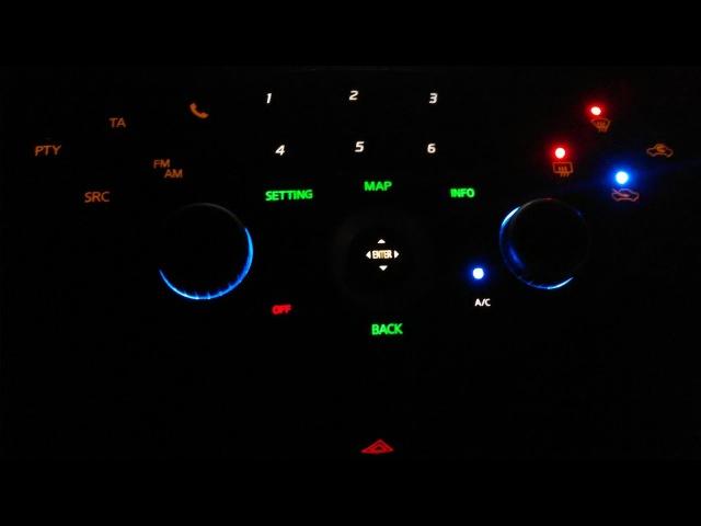 Пересвет салона. Nissan Primera P12. Рестайл.