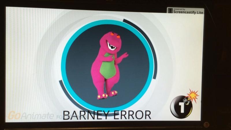 Barney Error 3 (Punishment Edition)