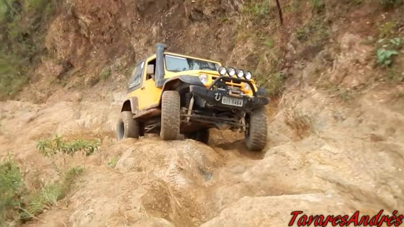 Encontro Nacional de Jeep Wrangler 2016 - Trilha da Galopeira