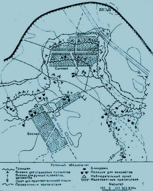Инженерное оборудование немецких опорных пунктов