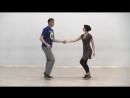 Видео-уроки Буги-вуги (Boogie-woogie). Beginners. Lesson 7. Tuck turn (eng subs).