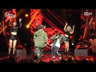 [22.09.16] Выступление MOBB с песней «HIT ME» на M COUNTDOWN. Фанкам от MPD.