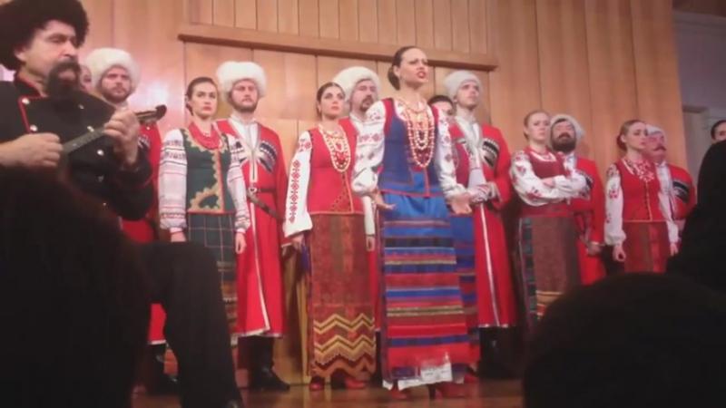 Иди и буди Марина Гольченко и Кубанский Казачий хор