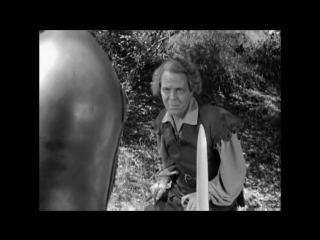 Черная стрела (1948). Бой в лесу