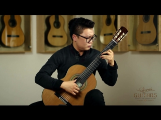 Xingye Li plays Etude No. 1 by Heitor Villa Lobos on a 2014 Roy Fankhänel guitar