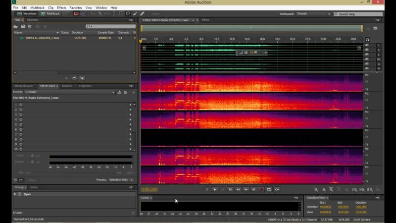 Урок 8. Удаляем нежелательные звуки из аудиодорожки